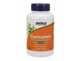 Now foods Curcumin 665mg 60 kaps.