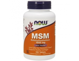 NOW FOODS MSM 1500mg 100 tabl
