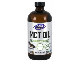 NOW foods OLEJ MCT 473 ML
